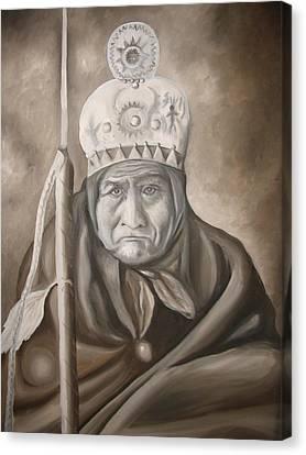 Geronimo Canvas Print by Jose Charles