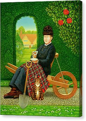 Gertrude Jekyll  Canvas Print by Frances Broomfield