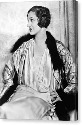 Gershwin Canvas Print - Gertrude Lawrence (1898-1952) by Granger