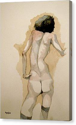 Gertrude Schiele Canvas Print by Ray Agius