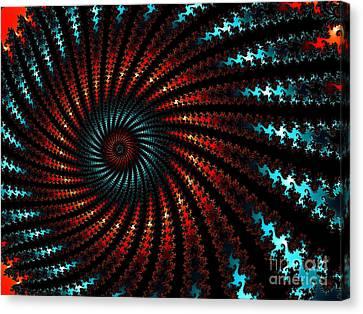Gestalt Spiral Canvas Print