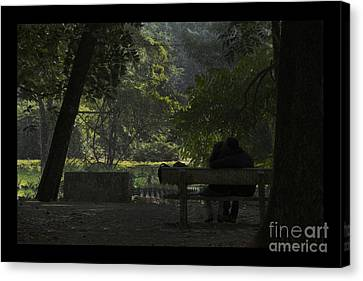 Romantic Moments Canvas Print