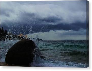 Get Splashed Canvas Print by Sean Sarsfield