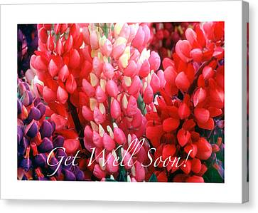 Canvas Print - Get Well Soon by Harold E McCray