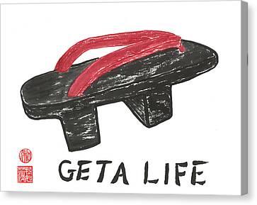 Geta Life Canvas Print by Terri Harris
