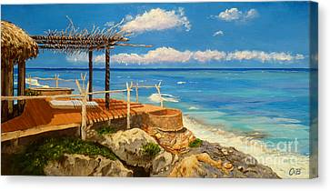 Getaway Canvas Print by Chad Berglund