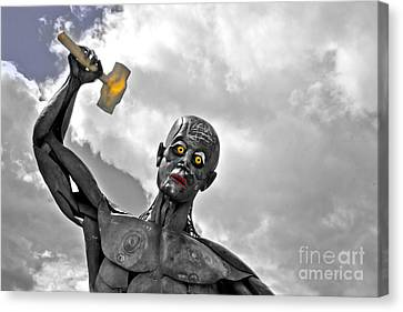 Getting Hammered Canvas Print