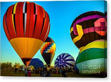 Getting Ready To Lift Off Canvas Print by Robert Bales