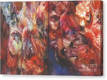 Getting Visceral #1 Canvas Print