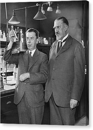 Gettler And Norris Canvas Print by Library Of Congress