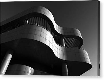 Canvas Print featuring the photograph Getty Center by Yue Wang