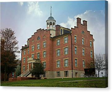Gettysburg Schmucker Hall Canvas Print by Stephen Stookey