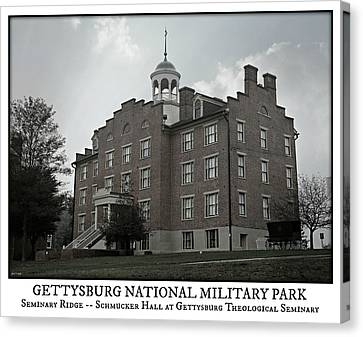 Gettysburg Seminary Ridge Poster Canvas Print by Stephen Stookey