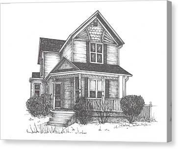 Gh Home Canvas Print by Barbara Carlson