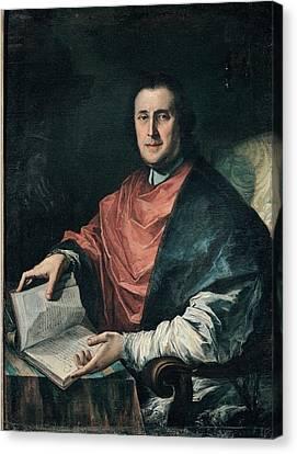 Ghedini Giuseppe Antonio, Portrait Canvas Print by Everett
