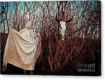 Ghost Attack Canvas Print by Gregory Dyer
