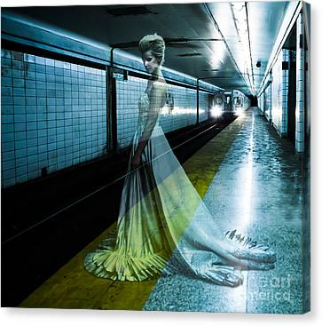 Ghost Bride Canvas Print by Diane Diederich