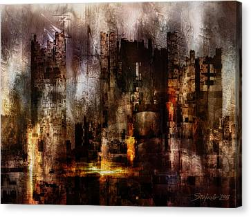 Ghost City II Canvas Print