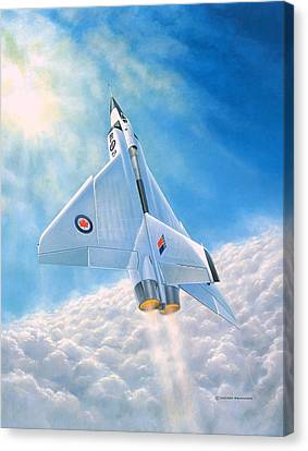 Ghost Flight Rl206 Canvas Print by Michael Swanson