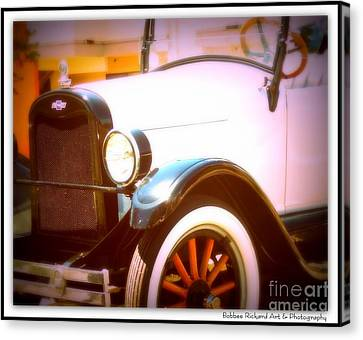 Ghost From The Past Canvas Print by Bobbee Rickard