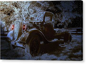 Ghost In The Moonlight Canvas Print