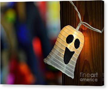 Canvas Print featuring the photograph Ghost Light by Lisa L Silva