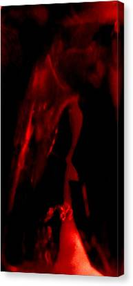 Canvas Print featuring the photograph Ghost by Mike Breau
