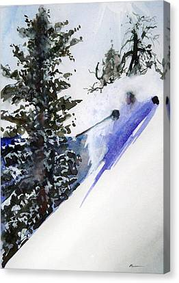 Ghost Of Tahoe Past Canvas Print by Ed  Heaton