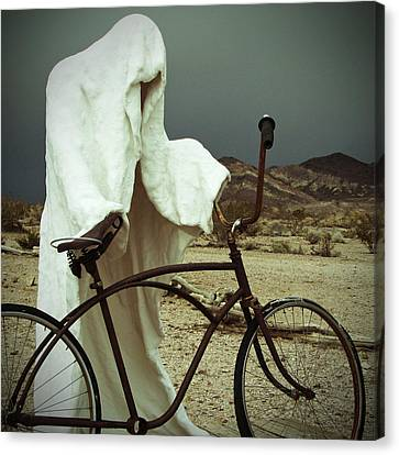 Ghost Rider Canvas Print by Marcia Socolik