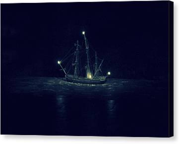 Ghost Ship Canvas Print by Laurie Perry