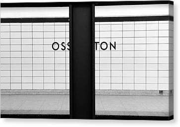 Ghost Station Canvas Print by Valentino Visentini