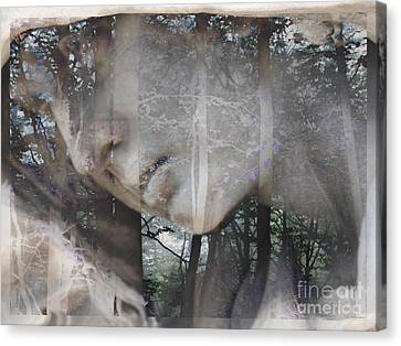 Ghost Story Canvas Print - Ghost Story  by Elizabeth McTaggart
