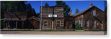 Ghost Town Nevada City Mt Canvas Print