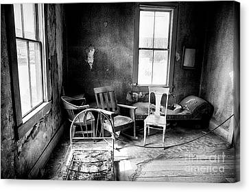 Ghost Town Still Life I Canvas Print by George Oze