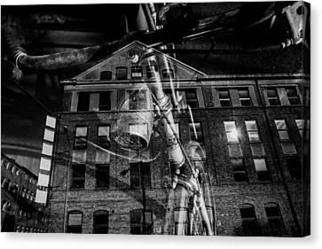 Journey Canvas Print - Ghostcyckle by Tommytechno Sweden