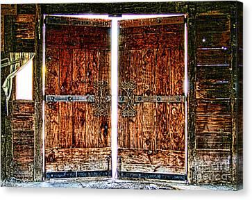 Ghostly Doors By Diana Sainz Canvas Print by Diana Sainz