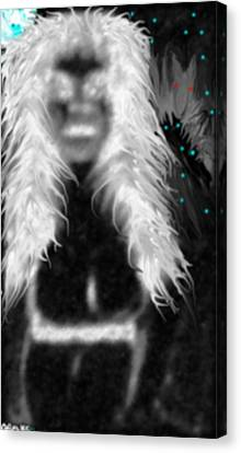 Ghostly Mama Canvas Print by  Drake