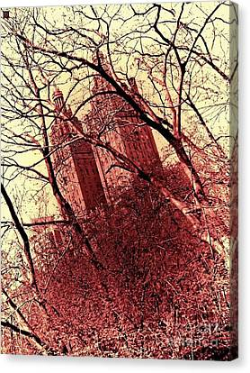 Ghostly Towers Canvas Print by Andy Heavens