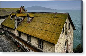 Alcatraz Canvas Print - Ghosts Of Alcatraz by Pixabay