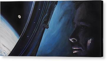 Universe Canvas Print - Ghosts Of Gemini by Simon Kregar