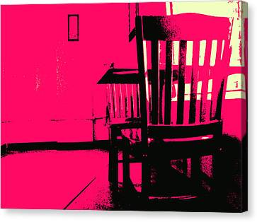Ghosts Canvas Print by Wendy J St Christopher