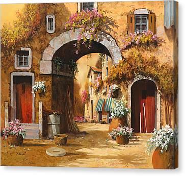 Giallo Arancio Canvas Print by Guido Borelli