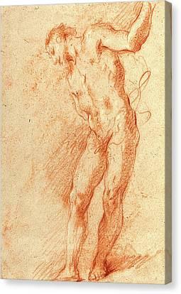 Gian Antonio Guardi, Italian 1699-1761 Canvas Print by Litz Collection