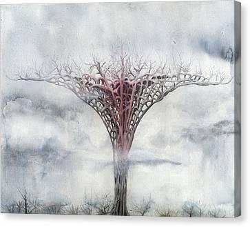 Giant Plant Canvas Print by Bjorn Eek