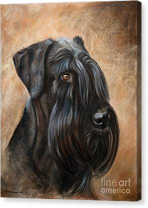 Giant Schnauzer Canvas Print