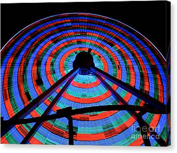 Giant Wheel Canvas Print by Mark Miller