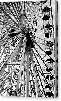 Giant Wheel Canvas Print by Mary Beth Landis