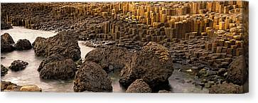 Giants Causeway, Antrim Coast, Northern Canvas Print by Panoramic Images