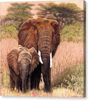 Giants Of Kenya Canvas Print