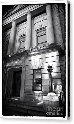 Gibbes Museum Of Art Canvas Print by John Rizzuto